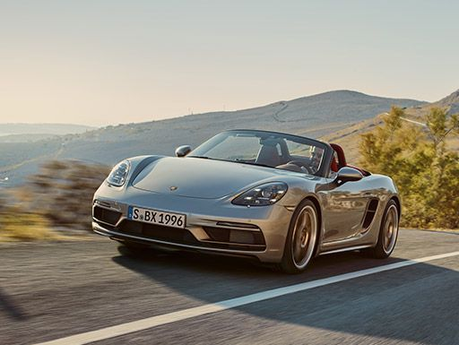 Forever young. Der Boxster 25 Jahre.