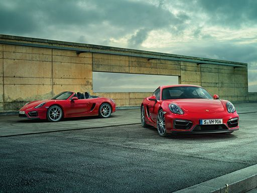 Purist. The new Boxster and Cayman GTS.